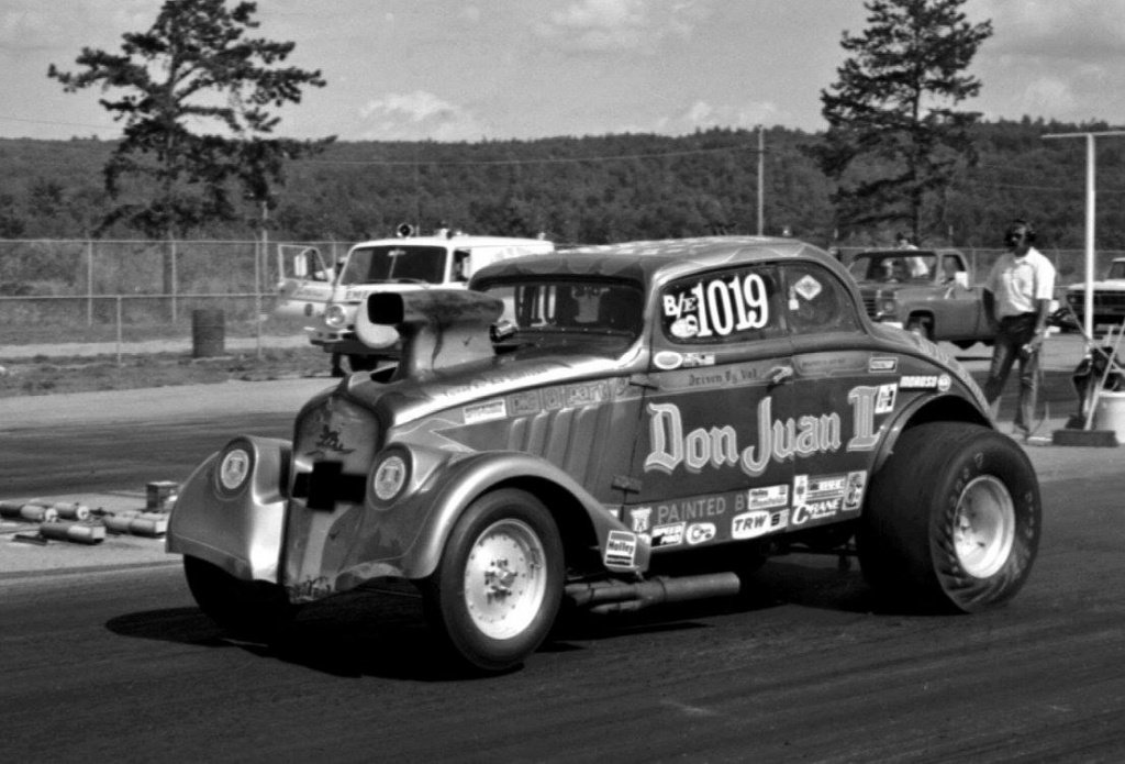 Val DiGenova - Don Juan II Willys - 2017 New England Hot Rod Hall Of Fame Inductee