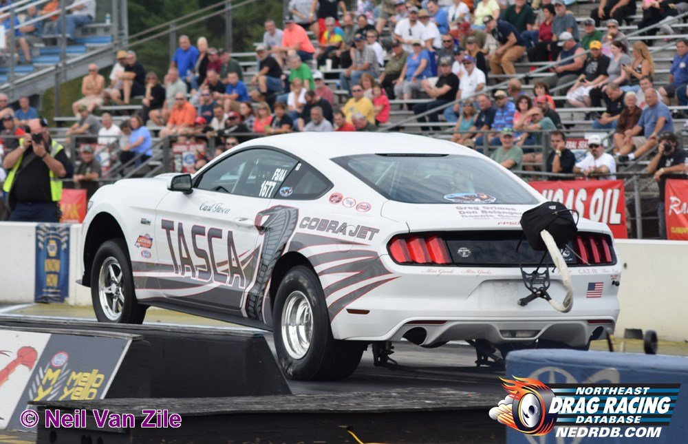 Tasca Ford is still active in drag racing - 2003 New England Hot Rod Hall Of Fame Inductee