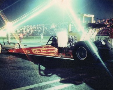 Jim Mahan teamed up with John Corcoran and Charlie Seigers to run T/F in 1974 John Corcoran did the driving