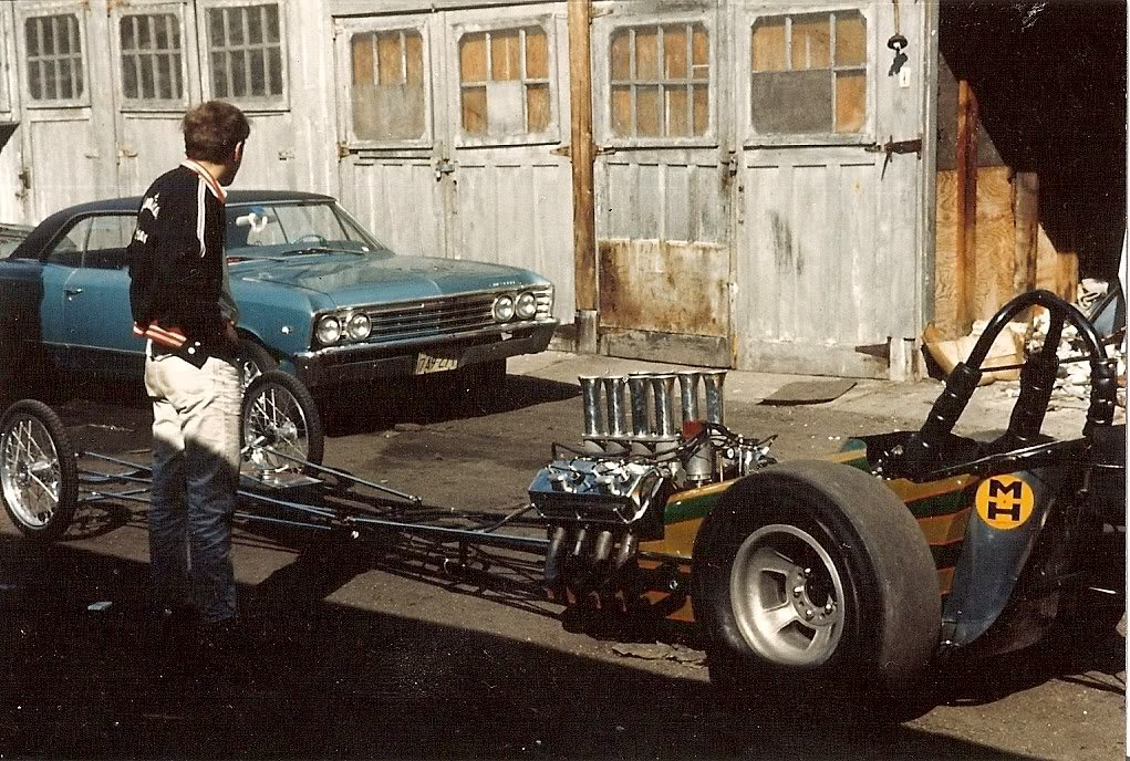 Jim Mahan with The Hard Guys A/FDat the infamous Edmund St garages in Malden, MA