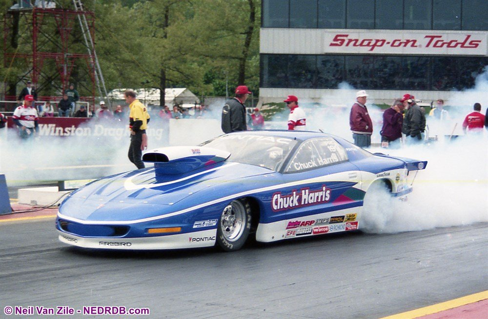 John Ondrejko in 1995 as Crew Chief for Chuck Harris' Pro Stock - 2019 New England Hot Rod Hall Of Fame Inductee