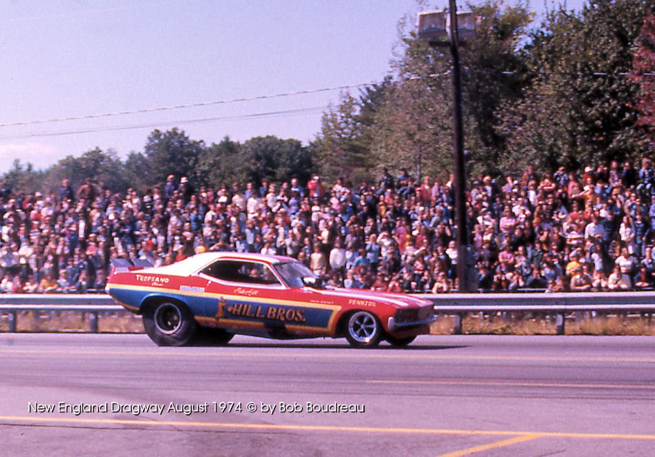 Hill Bros. Funny Car in 1974