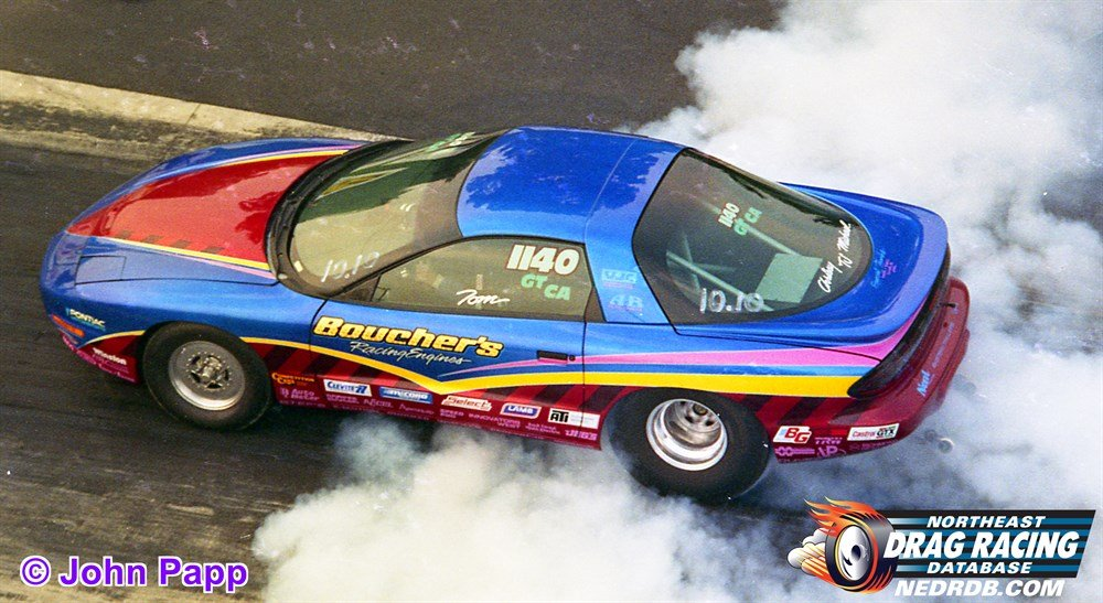 Tom Boucher in the Pontiac Firehawk GT/CA in 1996